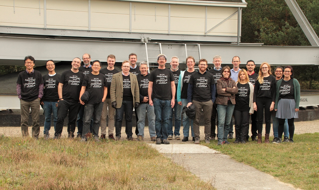 The CASA-VLBI workshop started today in Dwingeloo