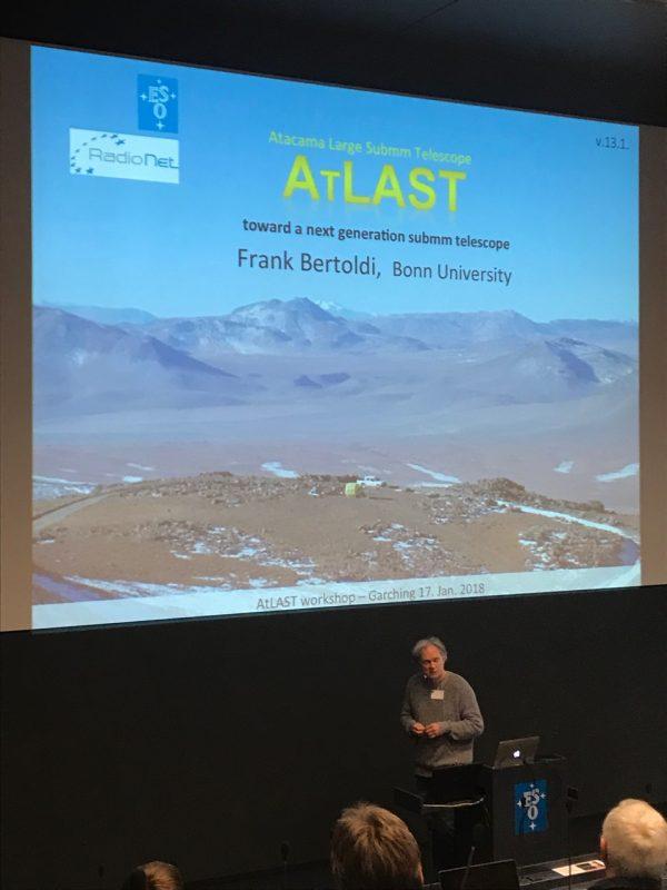 Start of the workshop Atacama Large-Aperture Submm/mm Telescope (AtLAST)