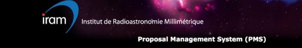 Call for Proposals on IRAM Telescopes