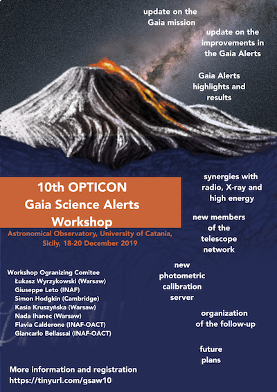 10thGAIA_OPTICON_2019