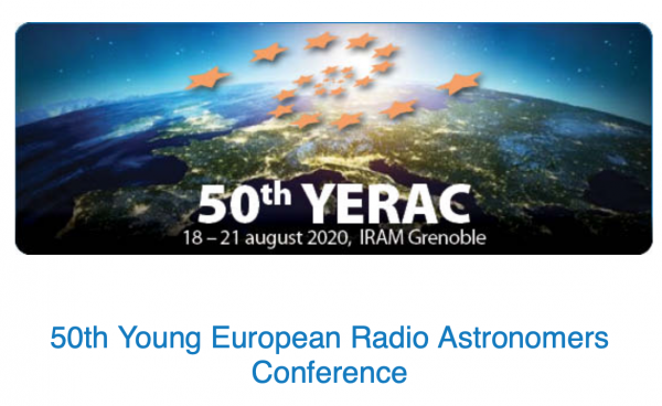 50th YERAC postponed until Summer 2021