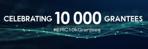 ERC ceremony: Celebrating 10 000 grantees